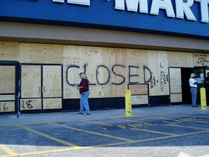 closed wallmart