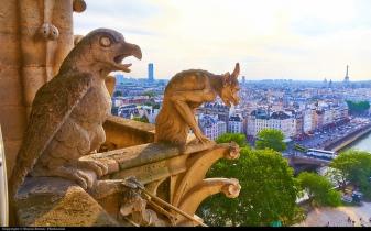 Paris below